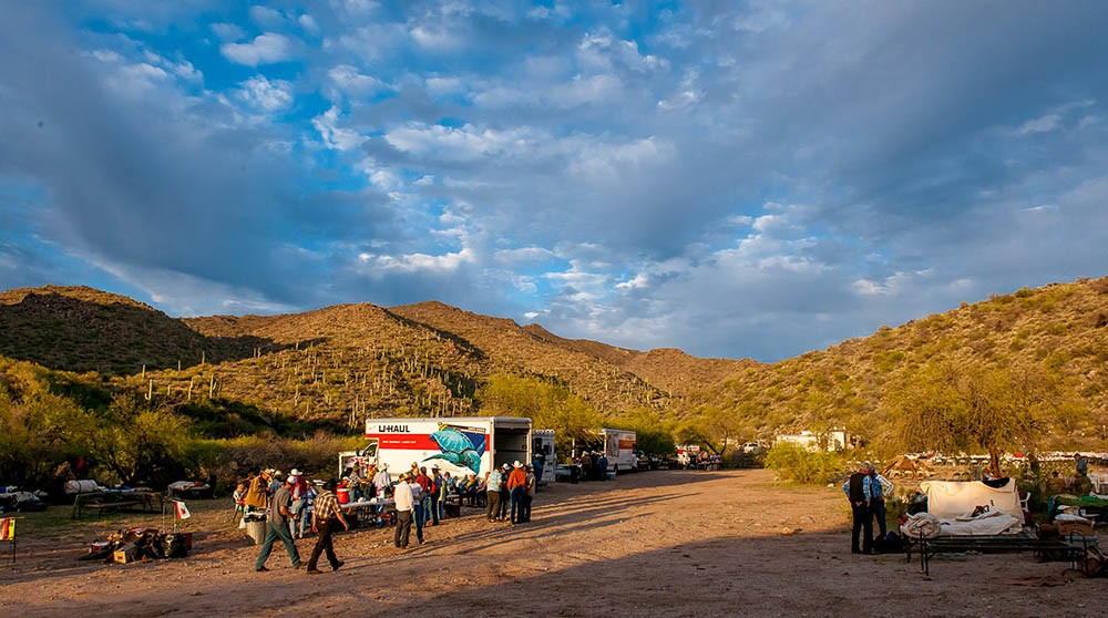 2011 desert caballeros ride